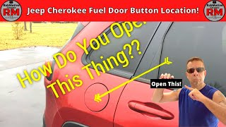 Horrible Jeep Cherokee Fuel Door Button!!
