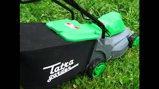 Электрогазонокосилка Татра Гарден LME 105. Как правильно ухаживать за газоном.