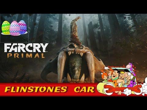Far Cry Primal Flinstones Car Location - Far Cry Primal Easter Eggs - Flinstones Easter Egg