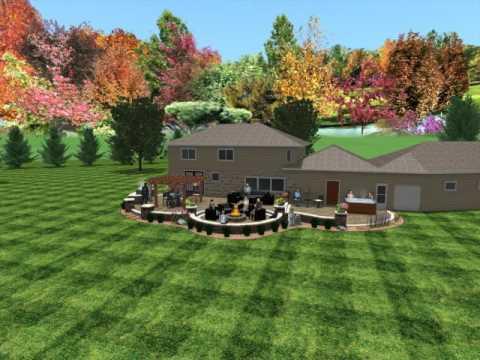 Design Green Oasis Patio Hayward Wi