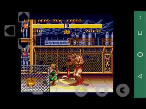Genesis/MegaDrive on Android | Street Fighter II' - Special Champion  Edition | Gensoid