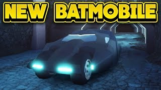 NEW BATMOBILE & MORE NEXT UPDATE! (ROBLOX Jailbreak)
