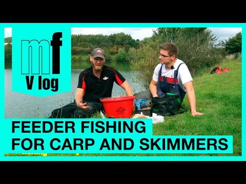 Rob Wootton & Joe Carass VLOG - Match Fishing - Feeder Fishing for Carp & Skimmers