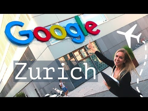 Working with YouTube Engineers and UX designer at Google Zurich | Blonde Vlog