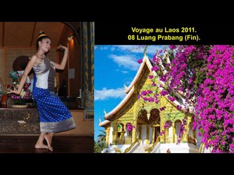 Voyage au Laos 2011 - 08 Luang Prabang (Fin du Voyage au Laos).