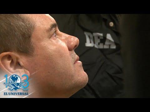 As bágoas do Chapo o día da súa extradición