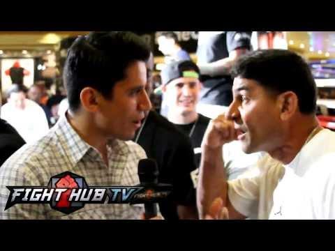 Angel Garcia flips out on Marcos Villegas over Lucas Matthysse