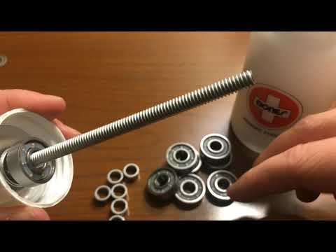 How do you clean your bearings?