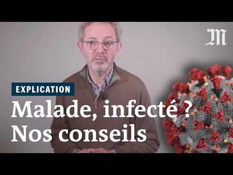 Coronavirus: que faire si vous pensez être malade ?