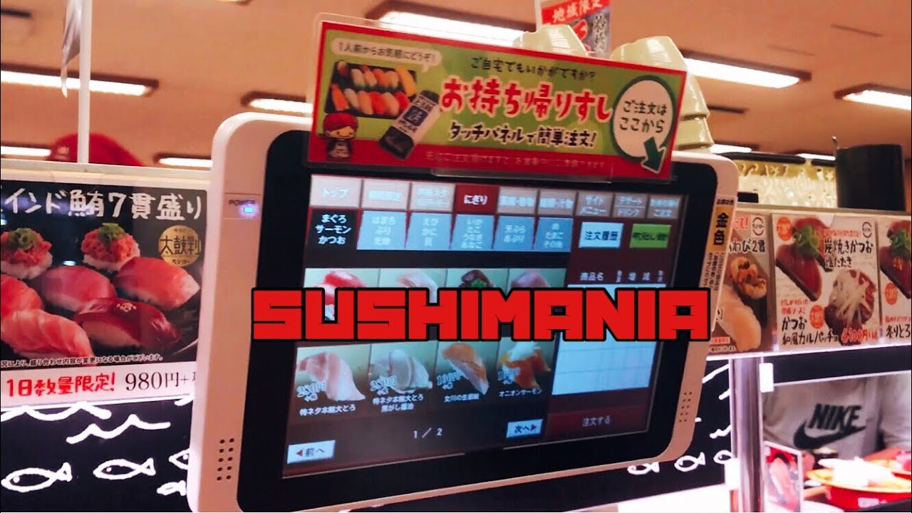 Sushimania How Many Plates Will They Eat At This Japanese Sushi Restaurant