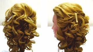 Укладка волос на бигуди.Свадебная,вечерняя прическа на длинные волосы.Styling my hair in curlers(Спасибо за подписку и лайки! http://www.youtube.com/user/LiliaLady777 Я покажу вам как сделать красивую укладку на бигуди.Эту..., 2013-10-29T04:43:03.000Z)