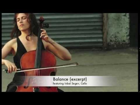 This music will make you feel Balanced - Cello music by WIlliam Haskell Levine, with Inbal Segev