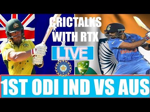 Live: IND Vs AUS 1st ODI | Live Scores And Hindi Commentary | India Vs Australia Live