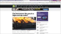 Cheap Auto Insurance Rates By State or Zip Code