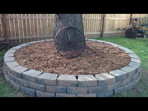 diy---yard-decor---stone-border-for-your-tree---step-by-step---made-simple-series-#2