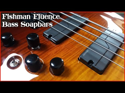 Fishman Fluence Bass Pickups - Demo And Review