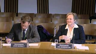 Rural Affairs, Climate Change and Environment Committee - Scottish Parliament: 12th September 2012