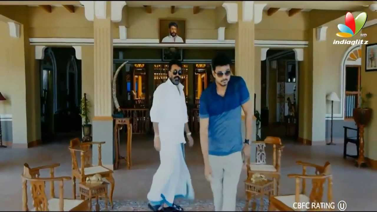 Jilla Official New Trailer HD   Tamil Movie   Vijay, Mohanlal, Kajal Agarwal, Soori   Teaser