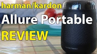 Harman Kardon Allure Portable Review / Wireless Bluetooth Speaker + Amazon Alexa