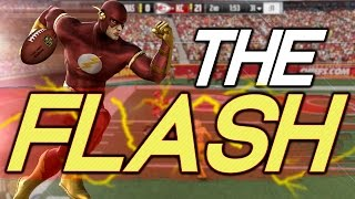 WHAT IF THE FLASH WERE A HB IN THE NFL?? 99 SPEED!!! Superhero Series | Madden 17