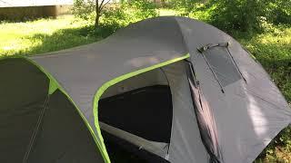 Видео обзор 4-х местной палатки Green Camp 1009-2