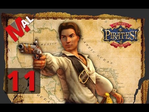 Sid Meier's Pirates! Let's Play - Part 11 Vaca In Barbados
