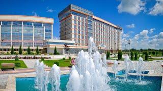 Санаторно курортный комплекс Русь 4 Ессентуки Россия обзор отеля территория