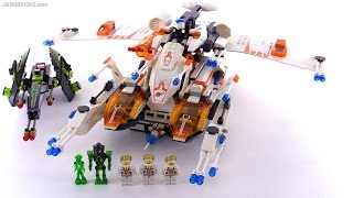 LEGO Mars Mission MX-81 Hypersonic Operations Aircraft from 2008! set 7644