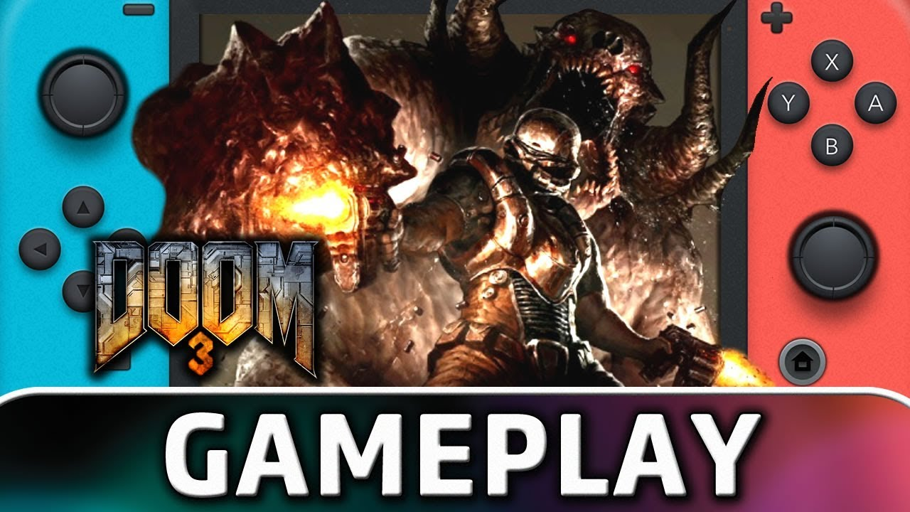 DOOM 3 | First 15 Minutes on Nintendo Switch
