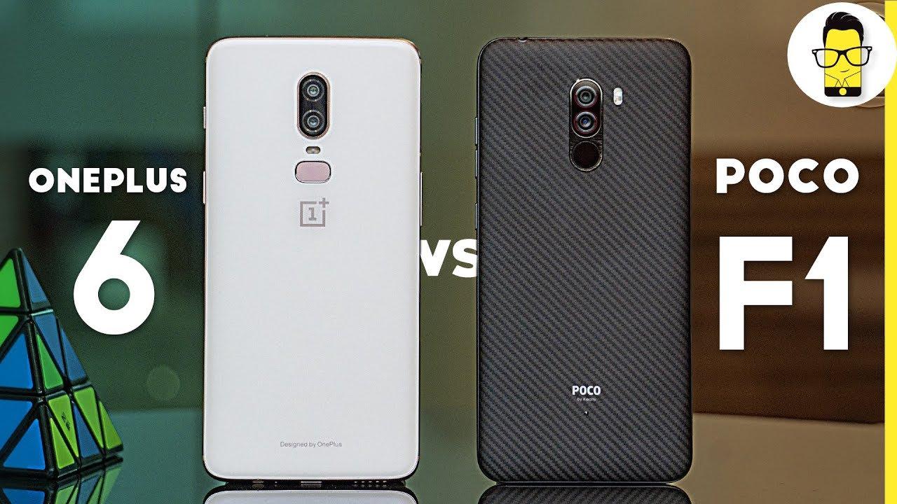 14f56b0f1 Poco F1 vs OnePlus 6 camera comparison  not very surprising results ...