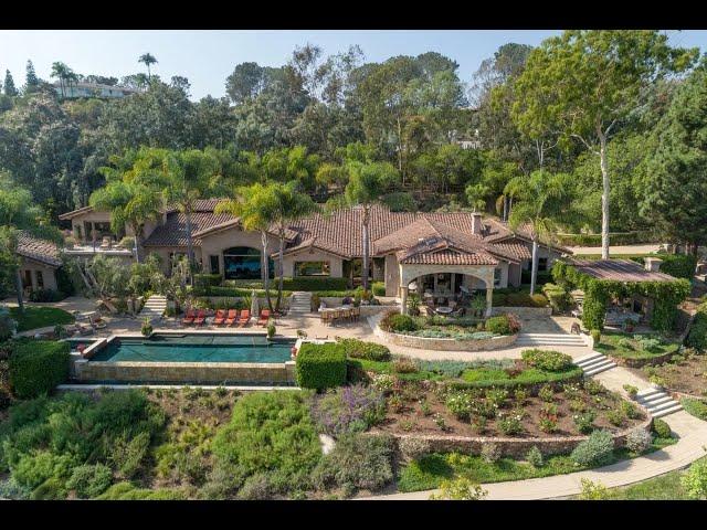 Captivating Custom Estate in Rancho Santa Fe, California | Sotheby's International Realty
