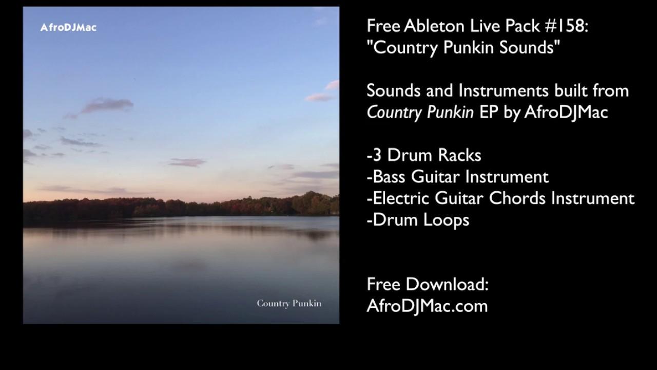 ableton bass guitar pack