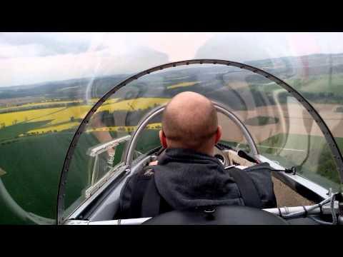 Vskutku adrenalinový zážitek s Blaníkem | L-13 Blanik Winch Launch Fail & Landing