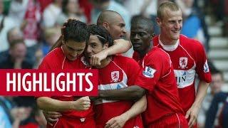 MATCH HIGHLIGHTS | Boro 8 Man City 1 - May '08