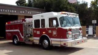 Dallas Fire Rescue Station 52 Full Response