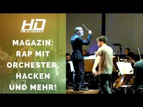 MAGAZIN: Rappen mit Orchester | Stuttgart 21 | Intelligente Implantate