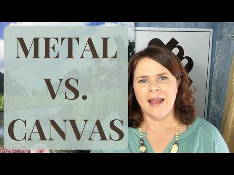 Canvas Prints VS. Metal Prints! How do you choose your printing method?