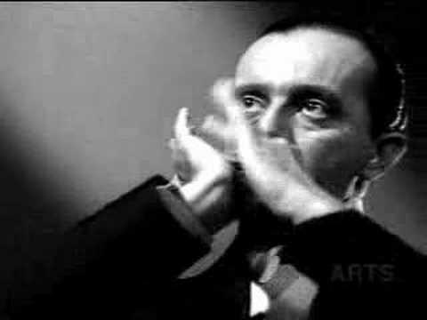 Larry Adler play Strauss on Harmonica