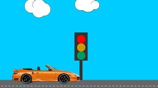 Animate CC Making Car animation and Traffic Light. Animate CC Tutorial Classic Tween Frame by frame