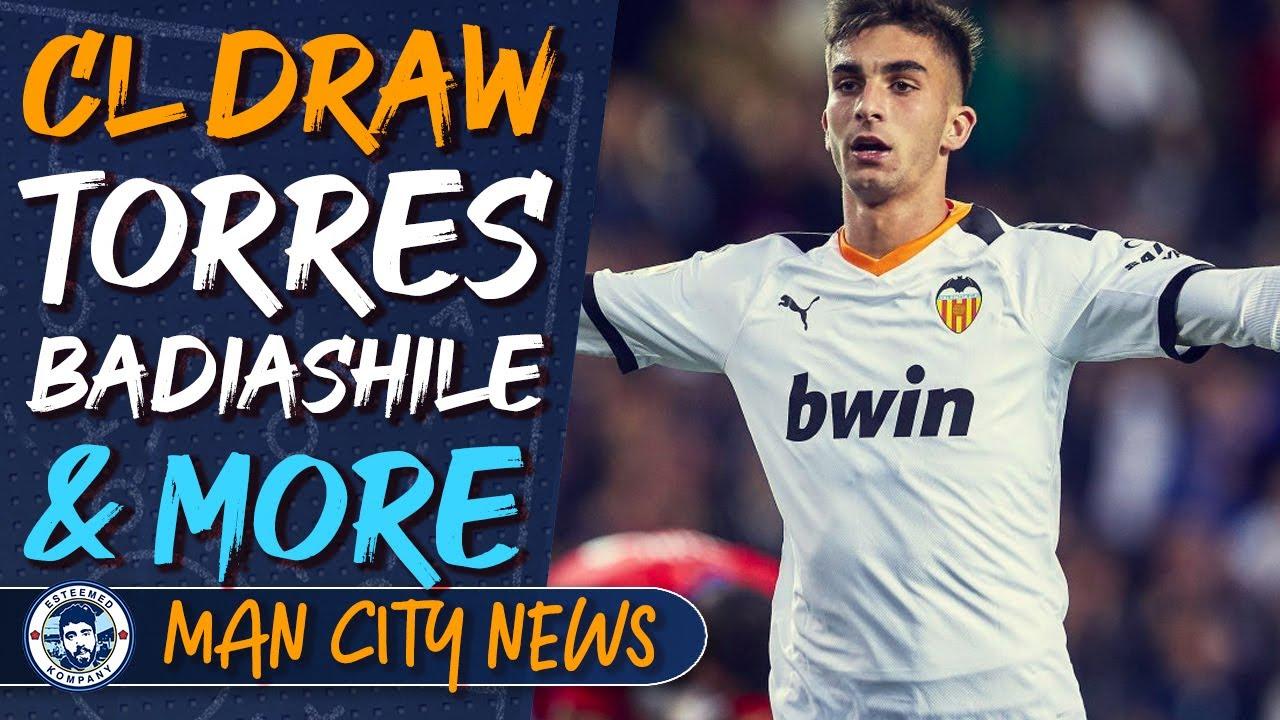 Champions League Draw, KDB & Garcia, Ferran Torres, Badiashile and more! | MAN CITY NEWS ROUNDUP