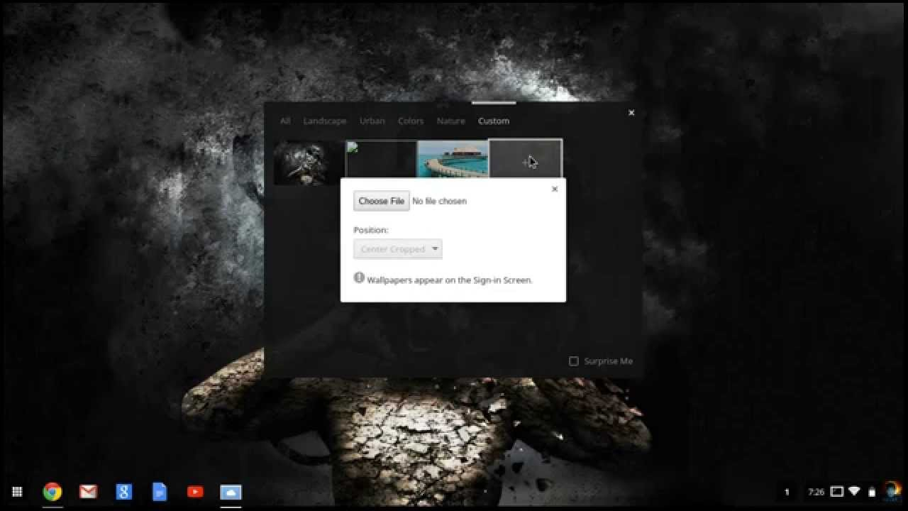 How to change your wallpaper on chromebook c720 youtube - How to change your background on a chromebook ...