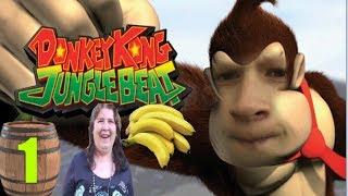 Donkey Kong Jungle Beat Playthrough Deel 1 - Eet Veel Bananen, Bananen Zijn Gezond!