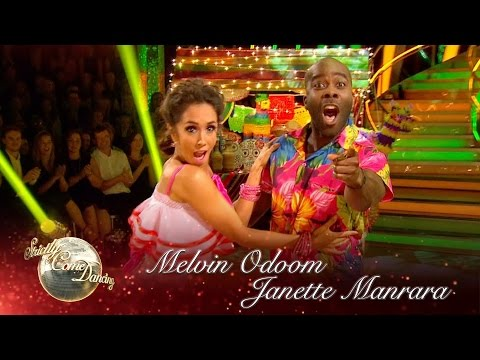 Melvin Odoom & Janette Manrara Cha Cha to 'Loco In Acapulco' - Strictly Come Dancing 2016: Week 1