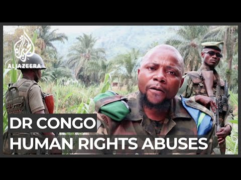 DR Congo violence: Rights group says militia working with army