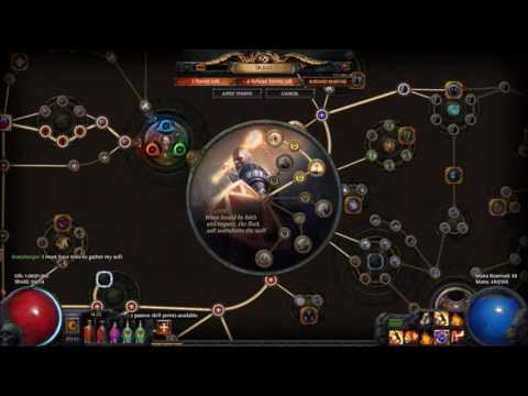 Path of Exile - Radiant Faith & Aura Effectiveness Demo