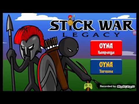 Kai Rider vs Swordwrath LİDERİ - Stick War Legacy TÜRKÇE