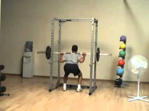 Body-Solid Powerline Power Rack - Home Gym Squat Cage ...