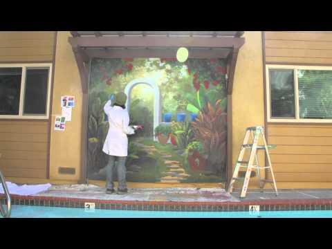 Mural: Mexican Garden