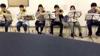 華麗なる舞曲 presto トロンボーンパート練習(倍管)in 大阪