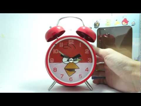 Angry Birds Alarm Clock - Normal Size
